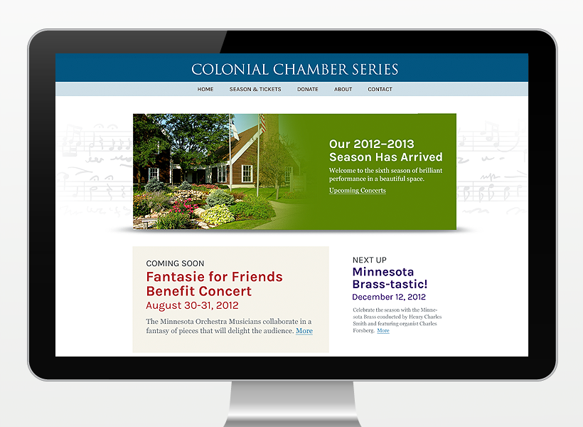 Colonial Chamber Series