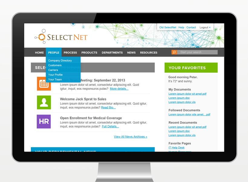 SelectQuote Intranet