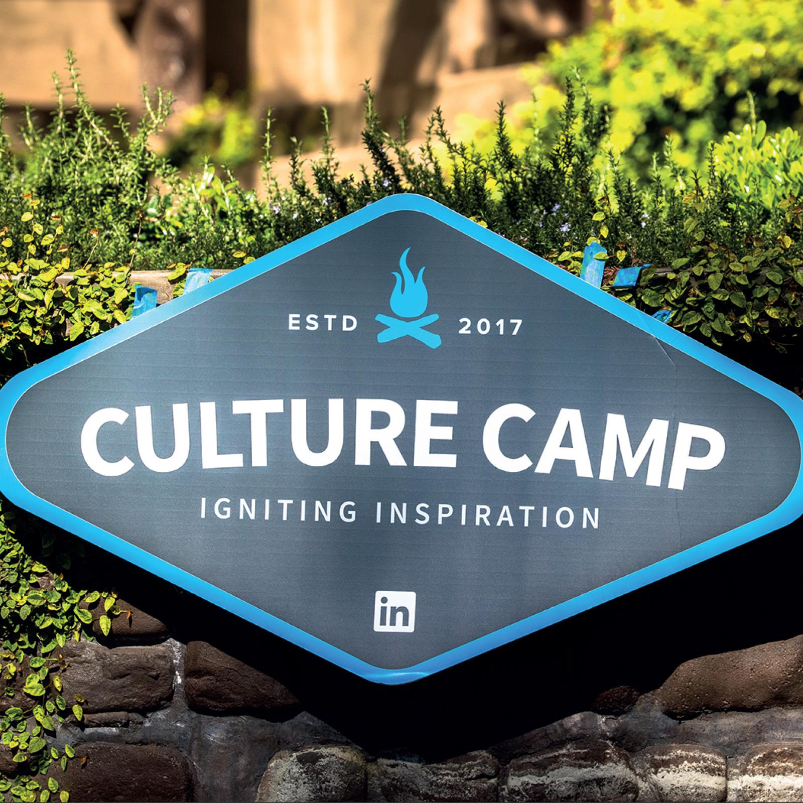 LinkedIn Culture Camp Logo